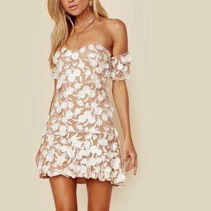 For Love and Lemons Amelia Mini Dress Size Small